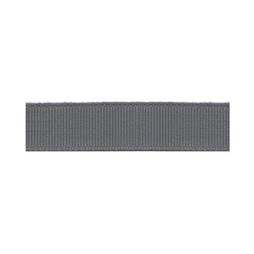 S.I.C. SIC-122 コットングログランリボン 15mm C/#49 チャコール 1巻(30m)