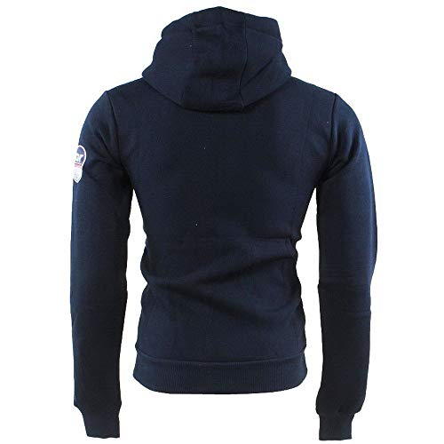 Sweat Bleu À Capuche Norway Geographical 100 Men Gilba 0Hz5xw