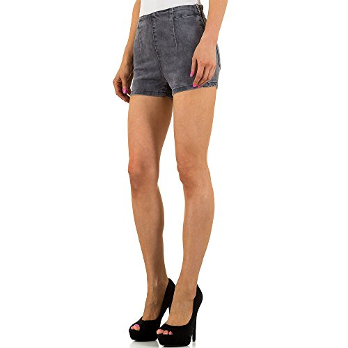 Used Look Hot Pants Jeans Shorts Für Damen , Grau In Gr. Xs/34 bei Ital-Design