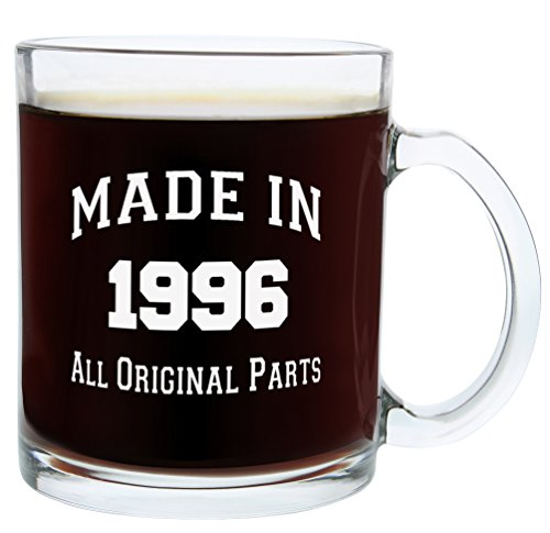 21st-Birthday-Gifts-Made-1996-Gift-Glass-Coffee-Mug-Tea-Cup