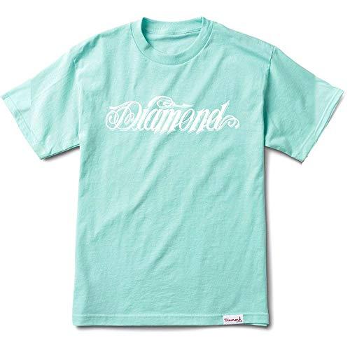 Diamond Supply Co Diamond Giant Script T-Shirt Diamond Blue by Diamond Supply Co