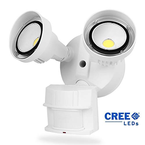 Motion Sensor Flood Light Fixture in US - 7