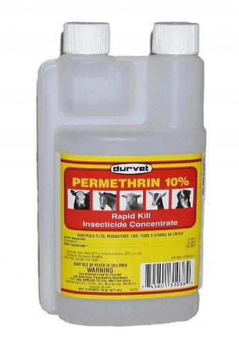 Control Solutions - 82004502 - Permethrin 10% - Multi-Purpose Insecticide, 32oz