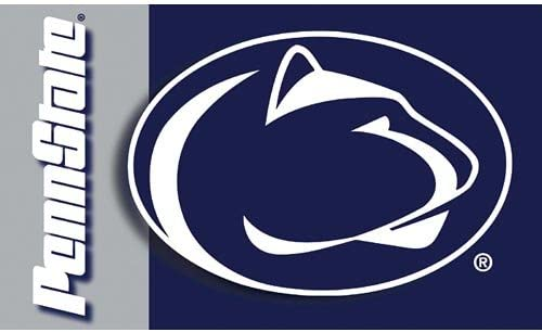 NCAA Penn State Nittany Lions 3-by-5 Foot Flag With Grommets