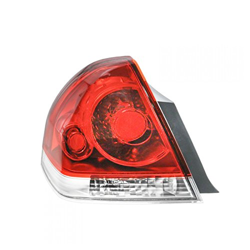 Taillight Lamp Taillamp Rear Brake Light Driver Side Left LH for 06-13 Impala