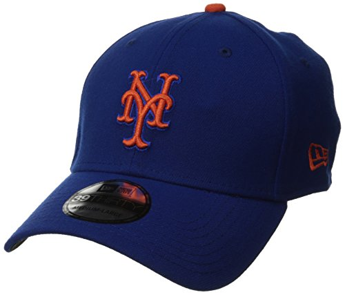 MLB New York Mets Team Classic Game 39Thirty Stretch Fit Cap, Blue, Medium/Large