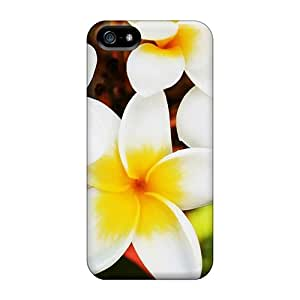 Pretty Plumeria Case Compatible With Iphone 5/5s/ Hot Protection Case