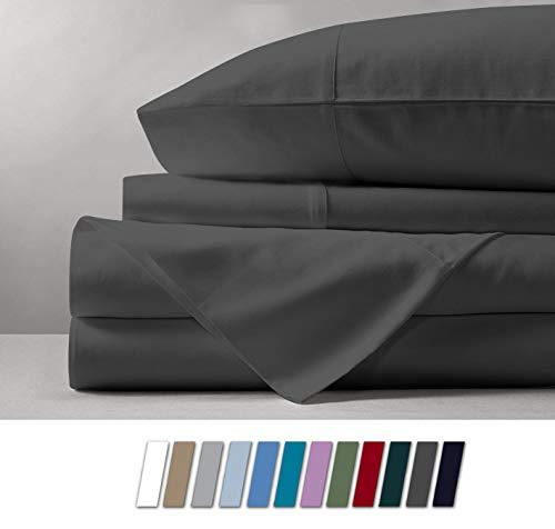 Mayfair Linen 100% Egyptian Cotton Sheets, Queen