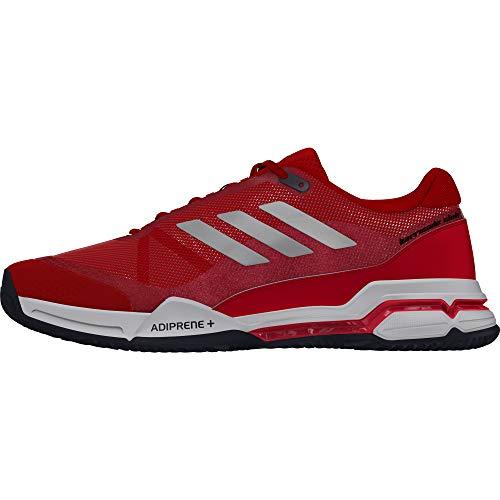 Adidas ftwwht Scarpe msilve Barricade Uomo msilve Da Scarle Clay Rosso Tennis scarle Club ftwwht 4U4dwvtqr