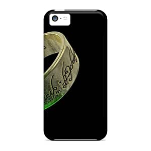 InesWeldon Iphone 5c Bumper Hard Cell-phone Case Customized Realistic Lord Of The Rings Series [lPH20075RdWa]