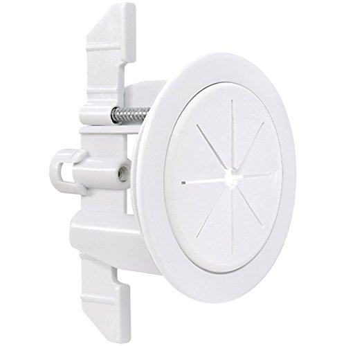Access Grommets - Midlite R1SP-A SpeedPort Universal Cable Pass Through & Anchor System, White