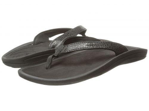 Olukai(オルカイ) レディース 女性用 シューズ 靴 サンダル Kulapa Kai W - Black/Black [並行輸入品]