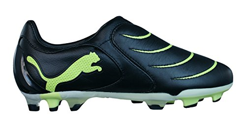 Puma PowerCat 2.10 FG Niños botas de fútbol Black
