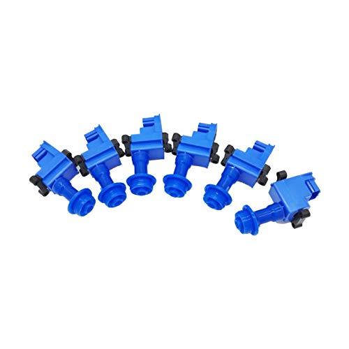 OKAY MOTOR 6PCS Super Direct Ignition Coil Pack For Nissan Skyline R33 Series 2 RB25DET R34 GTR RB26 RB26DETT -