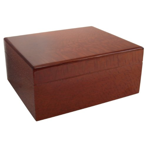 Savoy by Ashton Small Humidor in Beetlewood, 25 Cigar Capacity by Savoy