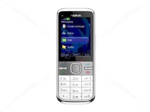 nokia C5 Keypad Symbian Smartphone - White: Amazon in