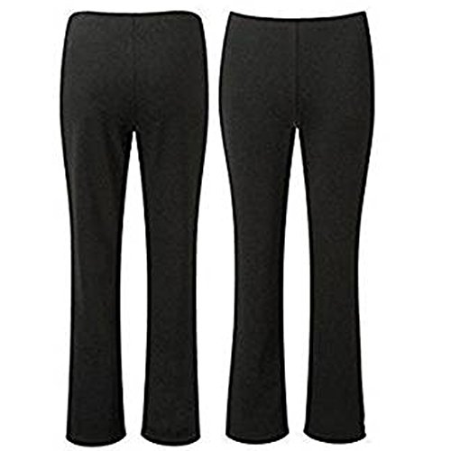 Femme Noir Black Unknown Regular 30 Pantalon 5w7nPY