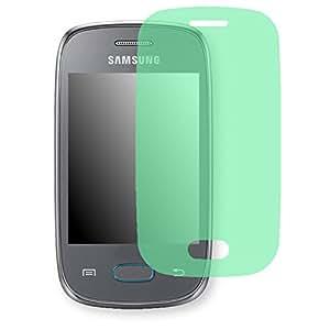 Lámina de protección Golebo verde contra miradas laterales para Samsung S5310 Galaxy Pocket Neo - PREMIUM QUALITY