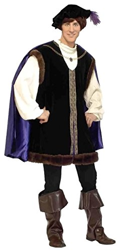 Deluxe Noble Lord Costume - Mens Medium (Noble Renaissance Man Costume)