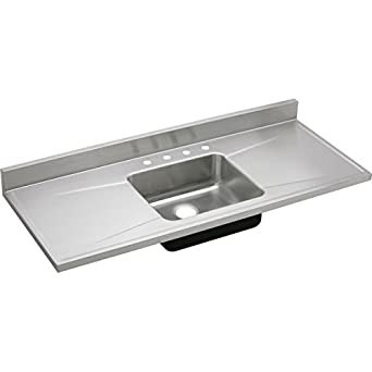 Amazon.com: Elkay s6019 Gourmet Lustertone Acero Inoxidable ...