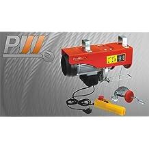 Prowinch 440 lbs. Electric Overhead Rope Hoist 110~120V 60HZ w/ Emergency Stop