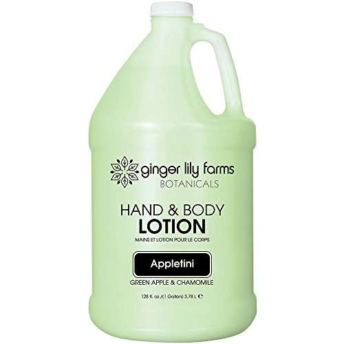 - Ginger Lily Farm's Botanicals Hand & Body Lotion, Appletini, 128 Ounce