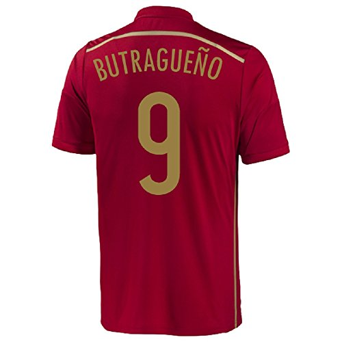 Adidas Butragueno #9 Spain Home Jersey World Cup 2014 Youth (YS)