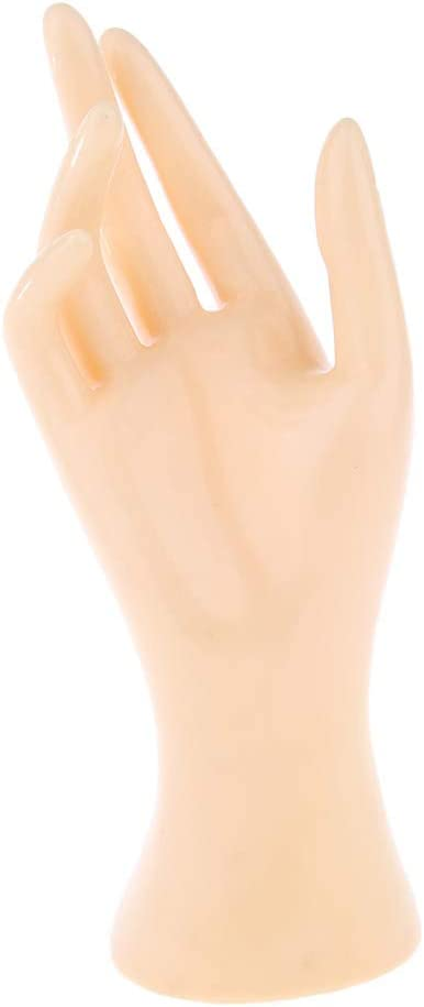 Gazechimp Female Mannequin Hand Black 4 Colors Last Long Stable
