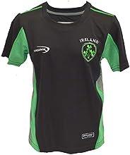 Lansdowne Black Ireland Kids Performance T-Shirt