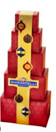 - Ghirardelli Chocolate Deluxe Holiday Tower