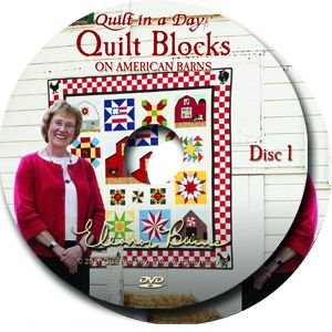Applique Quilt Block Patterns (Quilt Blocks on American Barns DVD with Eleanor)