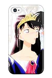 New Arrival Case Cover With YWIdAok11962wwDTb Design For Iphone 4/4s- Detective Conan