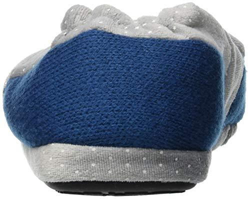 Bleu W410 de Bas Blu Femme Chaussons fonseca Aosta gYqYw8Z