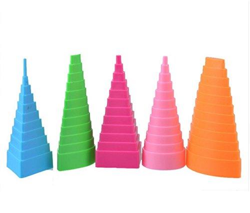 Marchandises de haute qualité 5pcs Origami Outil DIY Papier Artisanat Quilling Outils Border Buddy Kit-Couleur Aléatoire Sun Glower