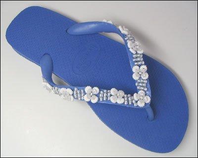 Beaded Top Sandal II (BR 39/40, Lavender)