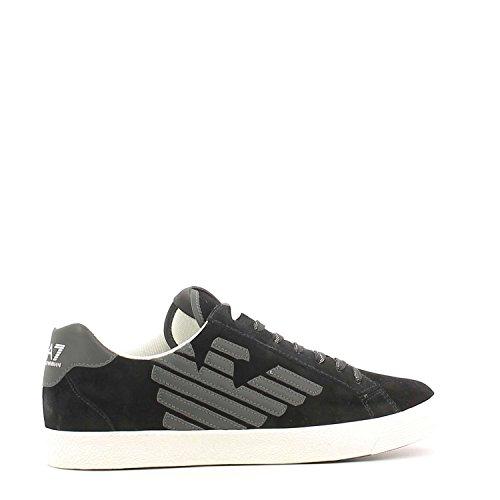 Tienda Para La Venta Emporio Armani Ea7 278038 CC299 Sneakers Uomo Nero Toma De Disfrutar Los Mejores Precios De Venta PzJg5Cy
