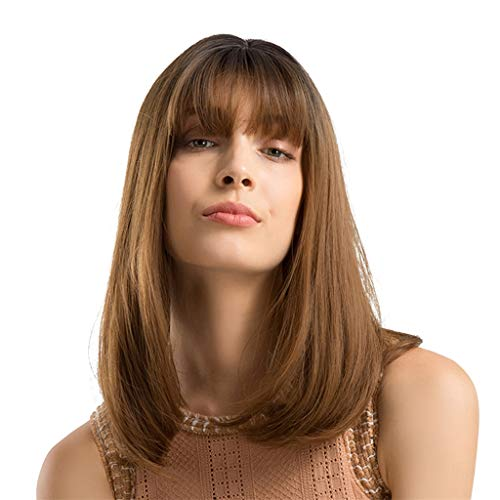 XILALU Long Straight Hair Hairstyle Synthetic Full Band Hair Wigs For Beautiful And Generous