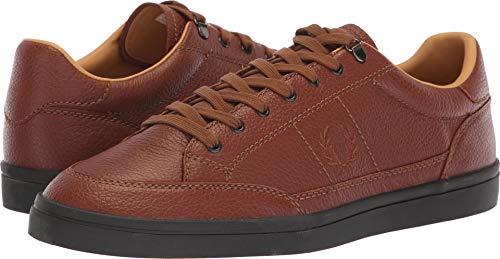 Fred Perry Men's Deuce Premium Leather Sneaker tan 12 D UK (13 US)