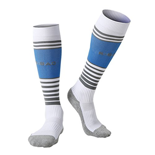 Longue Chaussettes Enfants Ans Non Hockey 8 13 Football Rayé Pour Compression Pack Blanc Slip Garçons De Sports 2 65qWnazO0v