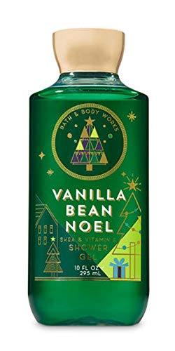 (Bath & Body Works Shea & Vitamin E Shower Gel Vanilla Bean Noel)