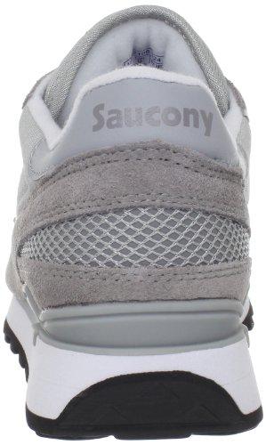 Originali Di Saucony Mens Shadow Original Sneaker Grigio / Bianco