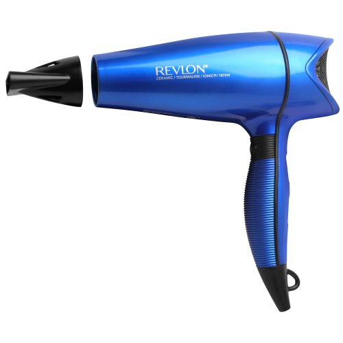 Revlon 1875W Perfect Heat Shine Boosting Hair Dryer, Aqua Blue (Brilliant Hair Dryer compare prices)