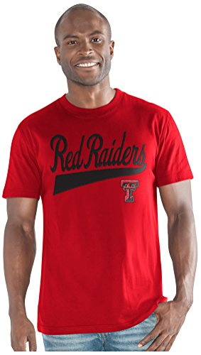 G-III Sports NCAA Texas Tech Red Raiders Men's Legend Short Sleeve Top, Red, X-Large from G-III Sports