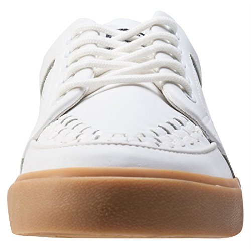 Basses Baskets Gum Creeper WHT K U Sole Gum Sneaker VLK White Adulte T Mixte Leath gzTvRqnp