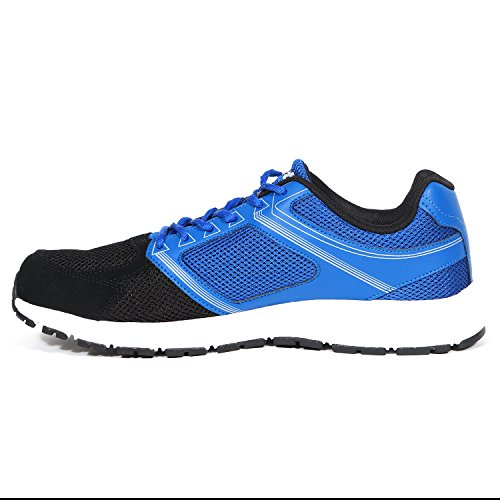 Lotto Mens Fausto Blue and Black Running Shoes -8 UK/India (42 EU)