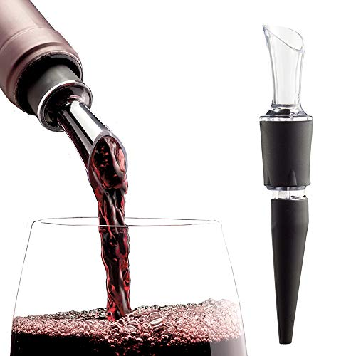 (2-PACK - AeraWine Patented Infusion Aerator - 100% Made in the USA - Premium Instant Wine Aerator Pourer Decanter)