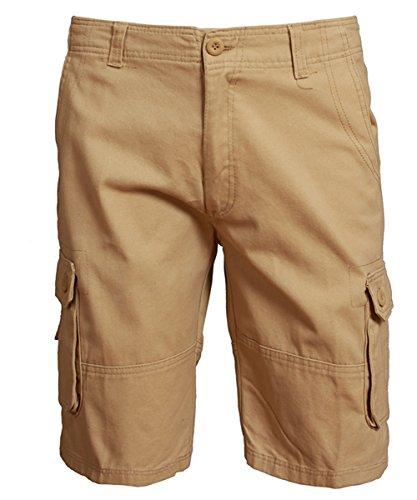 Sans Kaki Coton Allthemen Homme Bermuda Shorts Ceinture Cargo Pantacourt qqUOBZ