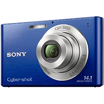 Sony DSC-W330 14.1MP Digital Camera with 4x Wide Angle Zoom with Digital Steady Shot Image Stabilization and 3.0 inch LCD (Blue)