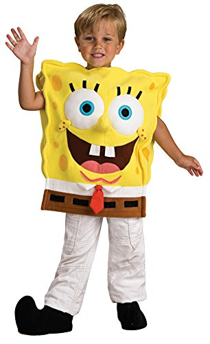 Spongebob Deluxe Child Md Kids Boys Costume