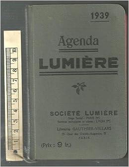 Agenda Lumiere: Amazon.com: Books